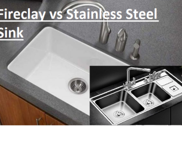 Fireclay vs Stainless Steel Sink: What are Difference and Similarities