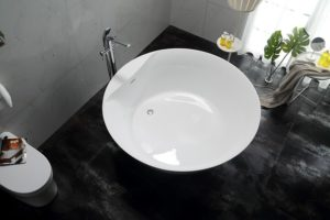how to get rust stains out of acrylic tub