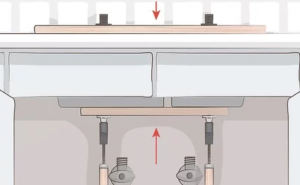 install undermount sink without clips