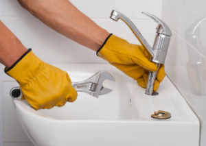 remove faucet without basin wrench