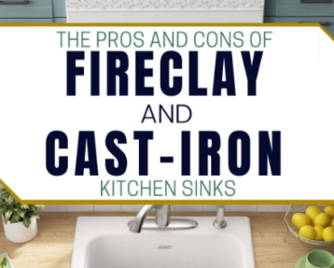 Cas Iron Vs Fireclay Sink: Which is Better?